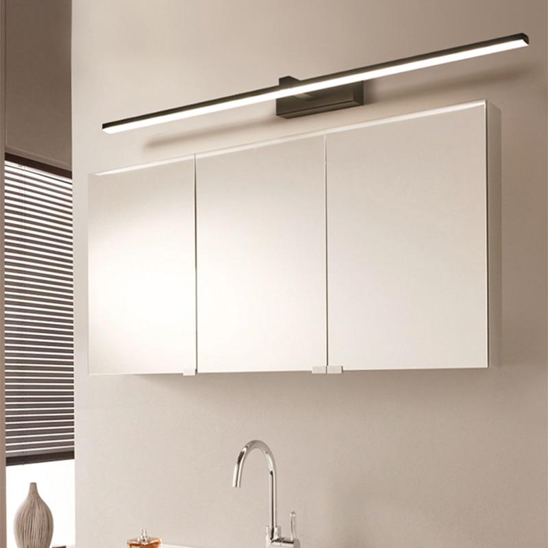 Modern Led Mirror Lights For Mirror Washroom Home Deco 90-260V Make Up Mirror Wall Lamp 40/60/80/100/120cm Bathroom Light