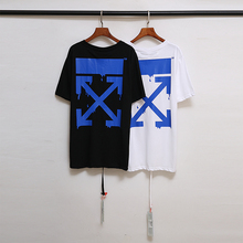 Men's Fashion T-Shirts OFF WHITE Print Tees Designer Women's
