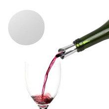 PREUP складной вино Pourer герметичные носики алюминиевая фольга Вино Виски Pourer гибкий многоразовый Капля Стоп заливки диск