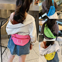 2019 Fashion Trend Kids Girls Waist Fanny Pack Adjustable Belt Pouch Hip Bum Chest Bag Travel Sport Small Purse Tote Satchel(China)