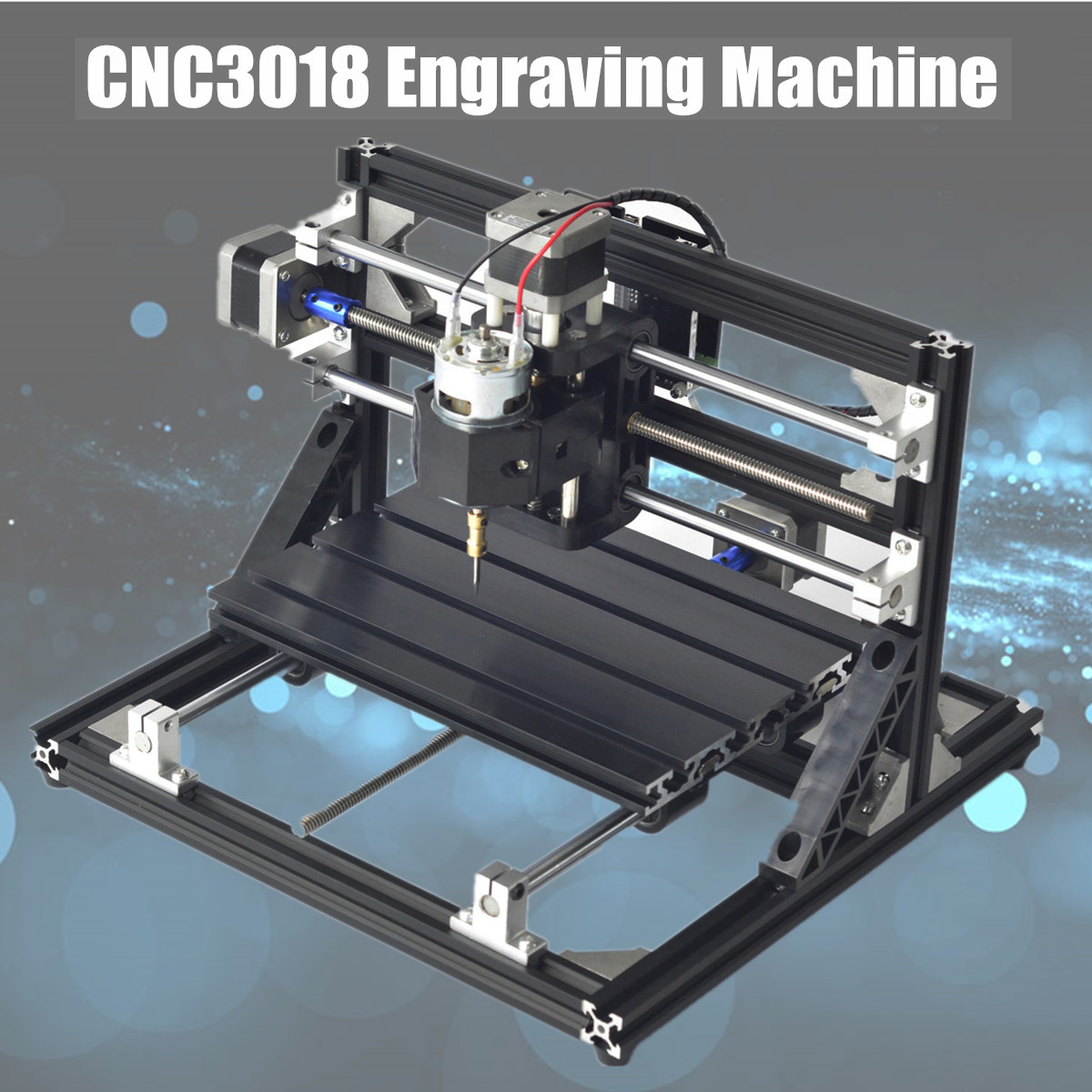 CNC3018 Diy Mini PCB PVC Milling Machine CNC Engraving Machine Laser Engraving GRBL Wood Router DIY Hobby Cutting Tools