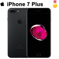 Original Apple iPhone 7 Plus Fingerprint 3GB RAM 32/128GB IOS Cell Phone LTE 12.0MP Camera Apple Quad Core12MP Cellphone 99%new