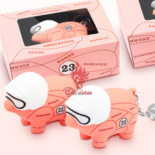 포르쉐 마판 S3 S4 카레라 4 용 1X 핑크 돼지 열쇠 고리 카이엔 자동차 키 장식 펜던트 용 Panamera 용 Taycan Targa