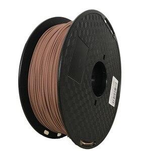 Image 4 - 3D Wooden PLA 3D Printer Filament 1.75mm 1000G/500G/250G Mahogany Wood Color 3D Printing Materials Supply PLA Dropshipping