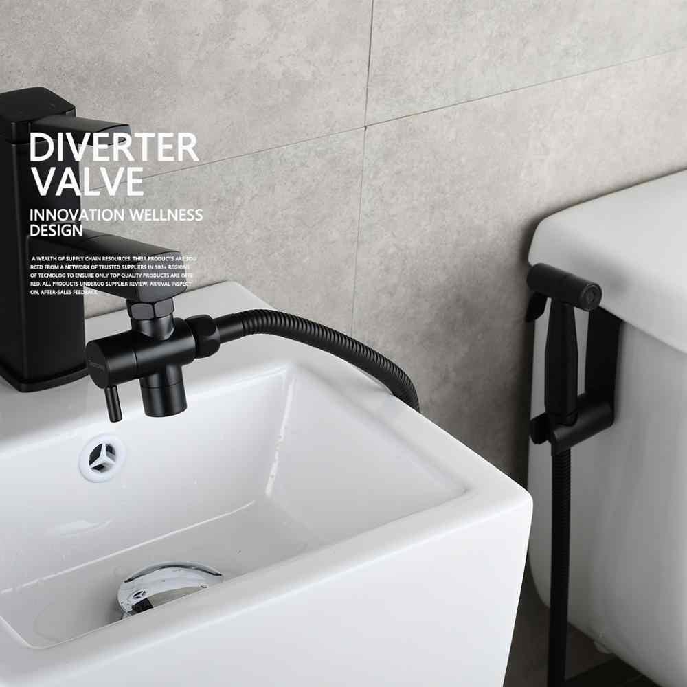 brass sink diverter faucet splitter for