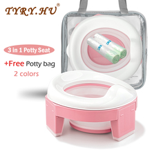 Toilet Potty Training-Seat Multifunctional Baby Portable Kids 3-In-1