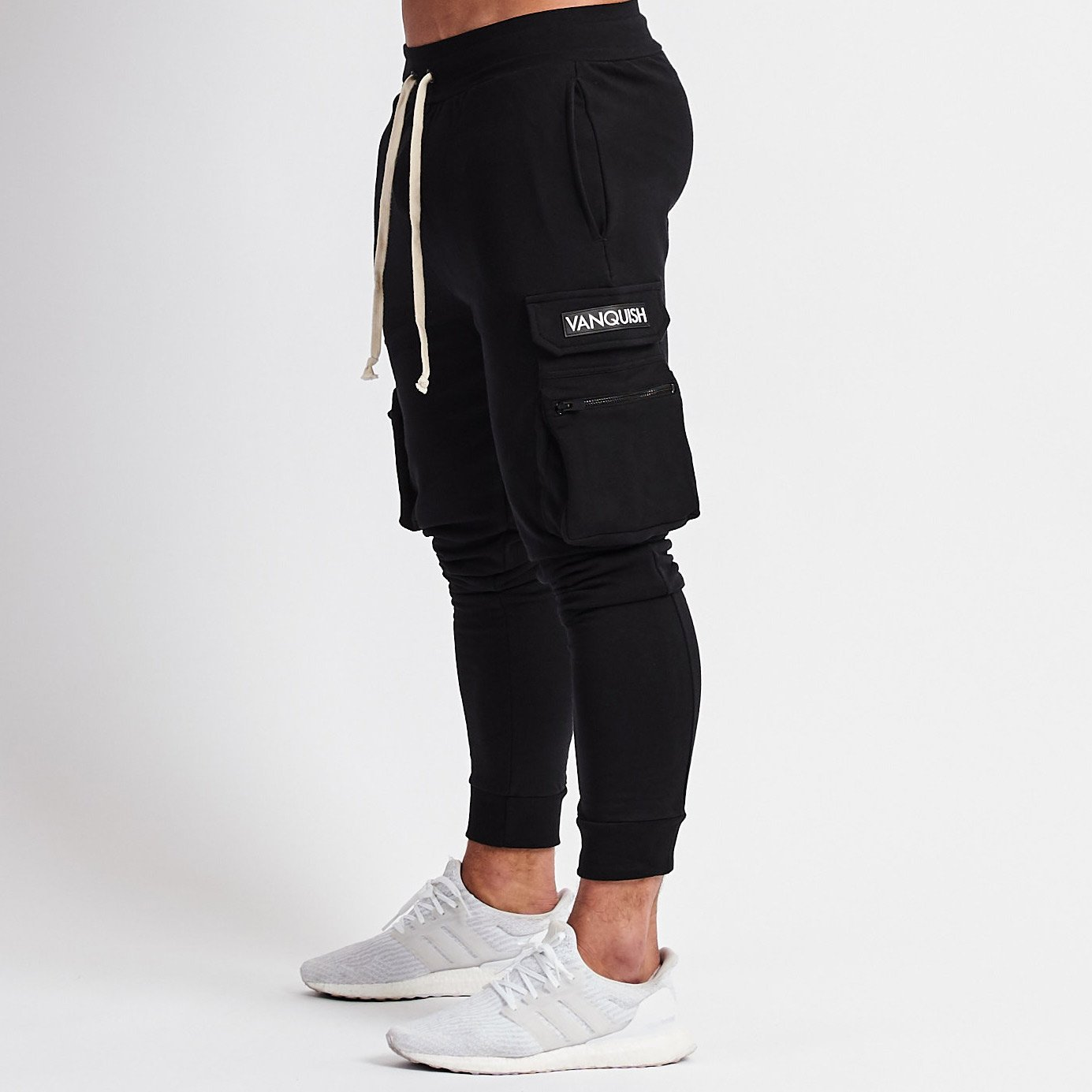 Jogger Pants New Style Overalls Men's Pure Cotton Leisure Running Fitness Pants Hip Hop Brand Pants Vanquish Japanese Pants 2019
