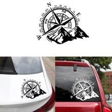 Горячая Распродажа, горный компас, наклейки для автомобиля, забавная виниловая обертка, наклейки для автомобиля, наклейки для авто, декор для окна, автомобильные наклейки, автомобильные аксессуары