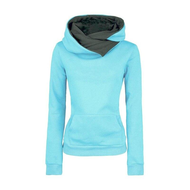 XUANSHOW 2019 New Winter Clothes Women Long Sleeve Fleece Women's Hoodies Sweatshirts Letter Printed Pullovers Lady Tops
