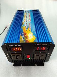 Image 4 - Tela digital dupla da grade, 3000w dc 12v/24v/36v/48v para inversor de potência de onda senoidal, inversor de potência de onda senoidal pura ac 110v/220v 50hz/60hz 6000w