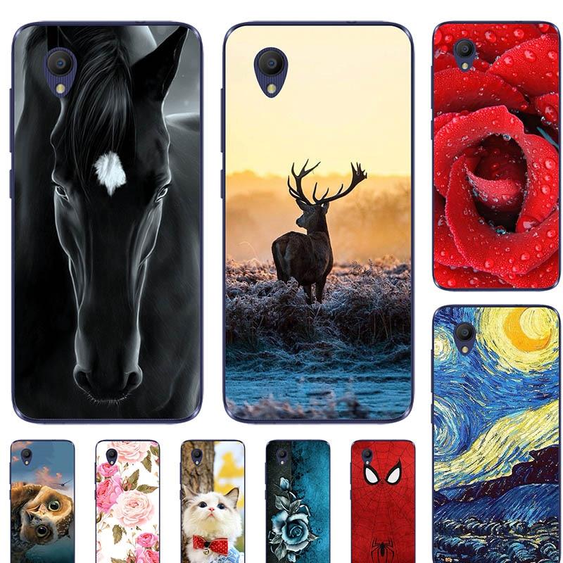 Cute Animal Printing Case For Vodafone Smart E9 E 9 5.0