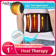 Elektrische Taille Terug Riem Warmte Therapie Back Brace Massage Lendensteun Riem Onderrug Pijn Voor Vrouwen Mannen Ouderen auto