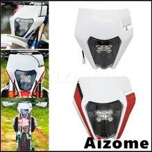 Светодиодные фары Enduro для мотокросса, 12 В, E8 Emark, фары для мотоцикла Yamaha Kawasaki MX EXC 450 SX XC WR DRZ KLX KX YZ FE