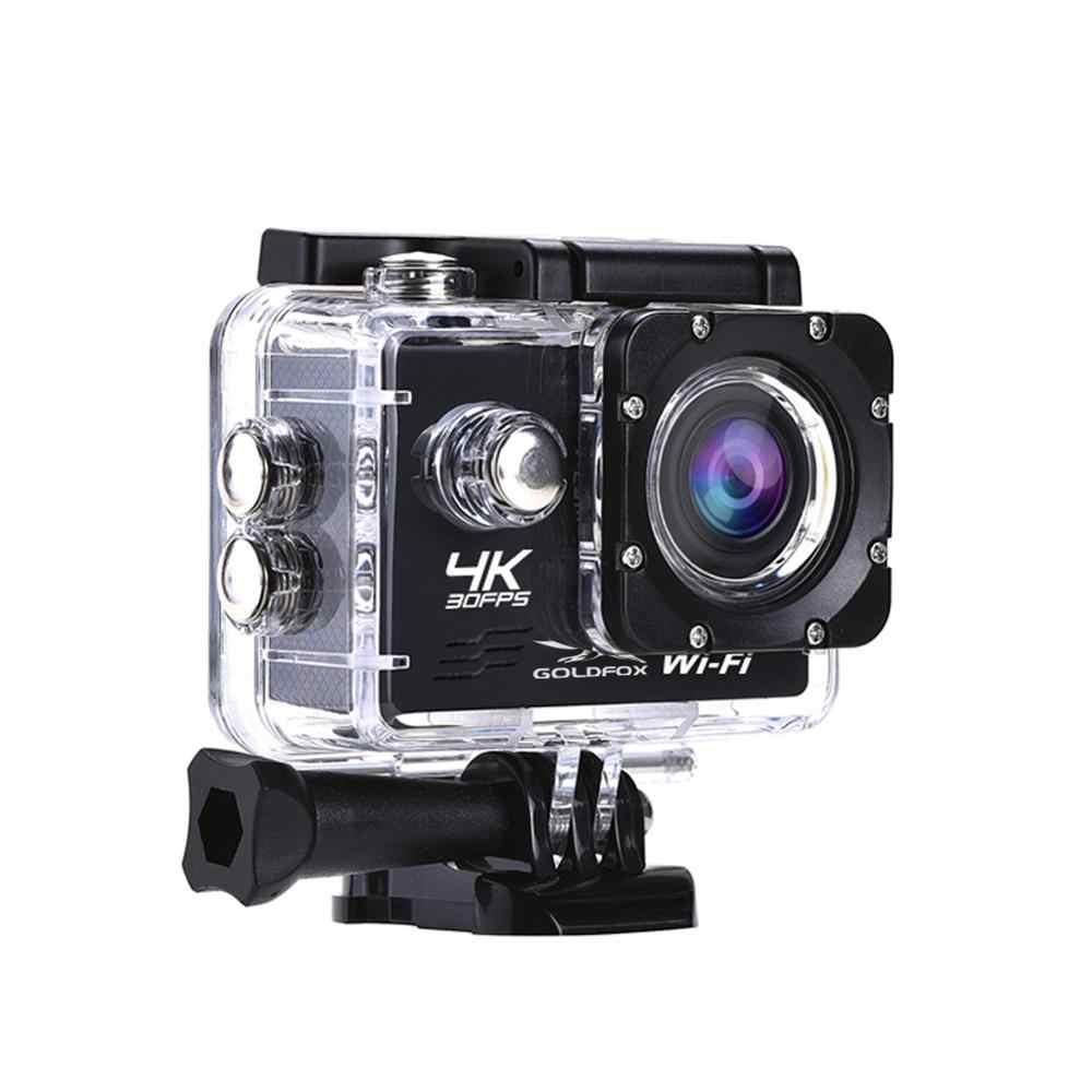 16MP واي فاي الرياضة عمل كاميرا الترا HD 4K 30fps 170D زاوية واسعة كاميرا رياضية الذهاب مقاوم للماء برو كام المتطرفة الرياضة كاميرا فيديو