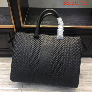 Image 1 - New pattern Mens business bag handbag Shoulder bag Business affairs Luxury Design Computer package Genuine leather Cowhide