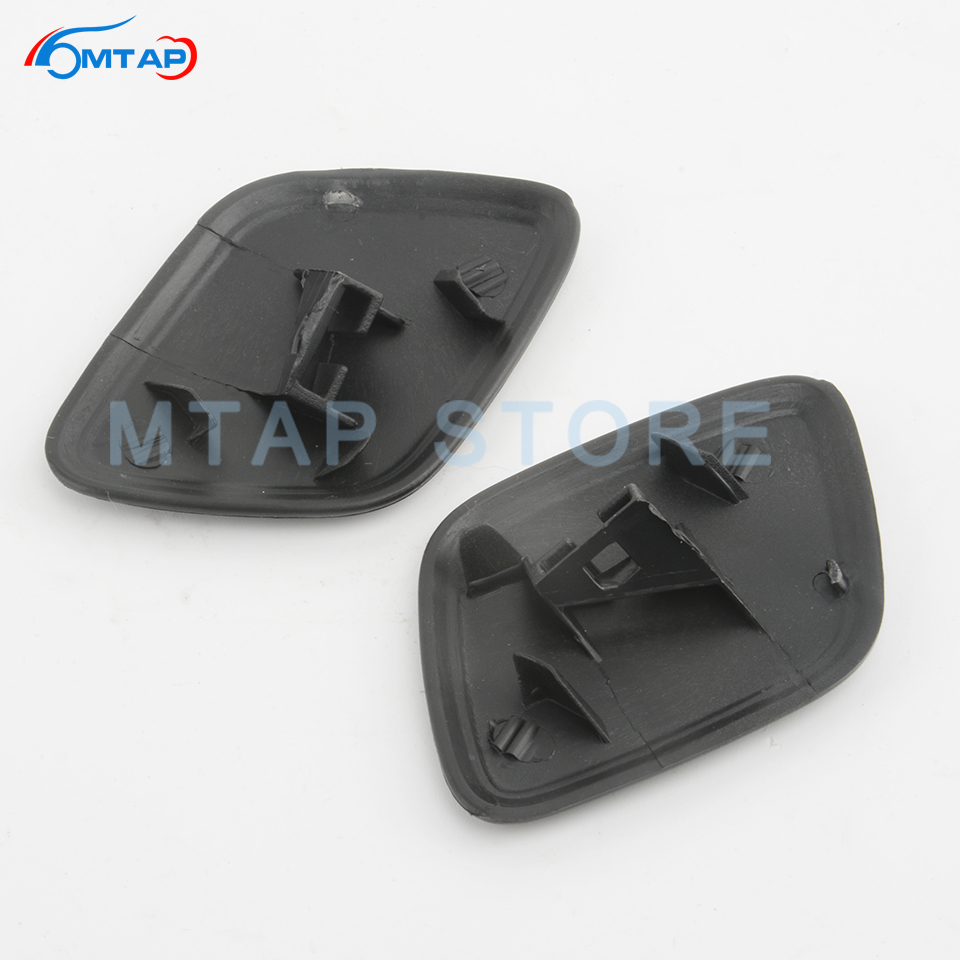 BYWWANG Headlight Headlamp Washer Spray Nozzle Cover,For Ford Focus MK4 2015-2018