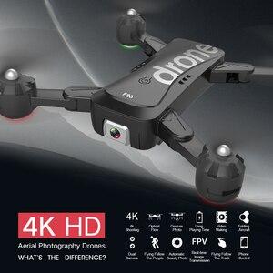 Image 3 - F88 Drone pliant RC quadrirotor pliable Portable WiFi Drones avec 4K HD caméra Altitude maintien Mode suivre Drone air selfie dron
