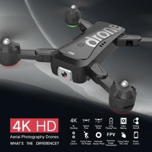 Image 3 - F88 zangão dobrável rc quadcopter portátil wifi drones com 4k hd câmera modo de espera altitude siga drone ar selfie dron