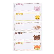 Buy 106pcs/pack Iron-on Animal Pattern Washable Name Labels Garment Fabric Tags Clothing Labels Marker Set for Clothes Accessories directly from merchant!