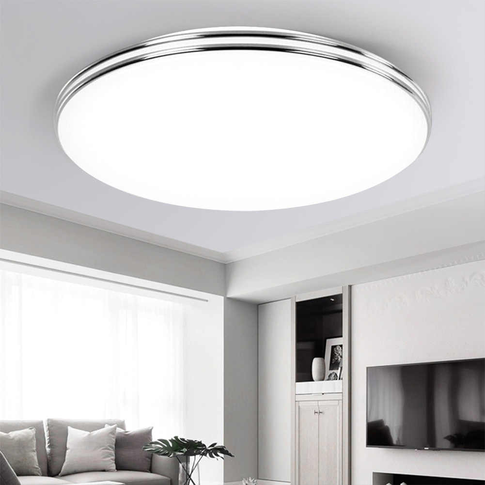 moderna blanco c/álido, 34 cm-18 W dormitorio ultrafina para sal/ón cocina l/ámpara de techo ahorro de energ/ía L/ámpara LED de techo de 18 W//24 W//36 W luz de pared