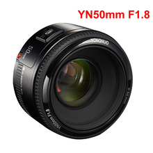 YONGNUO Lens YN50mm f1.8 YN EF 50mm f/1.8 AF Lens YN50 diyafram otomatik odaklama Canon lensi EOS 60D 70D 5D2 5D3 600d DSLR kameralar