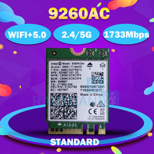 Wi-Fi-карта для Intel Dual Band AC 9560 9560NGW 3165AC 8260AC 9260AC NGFF Key E