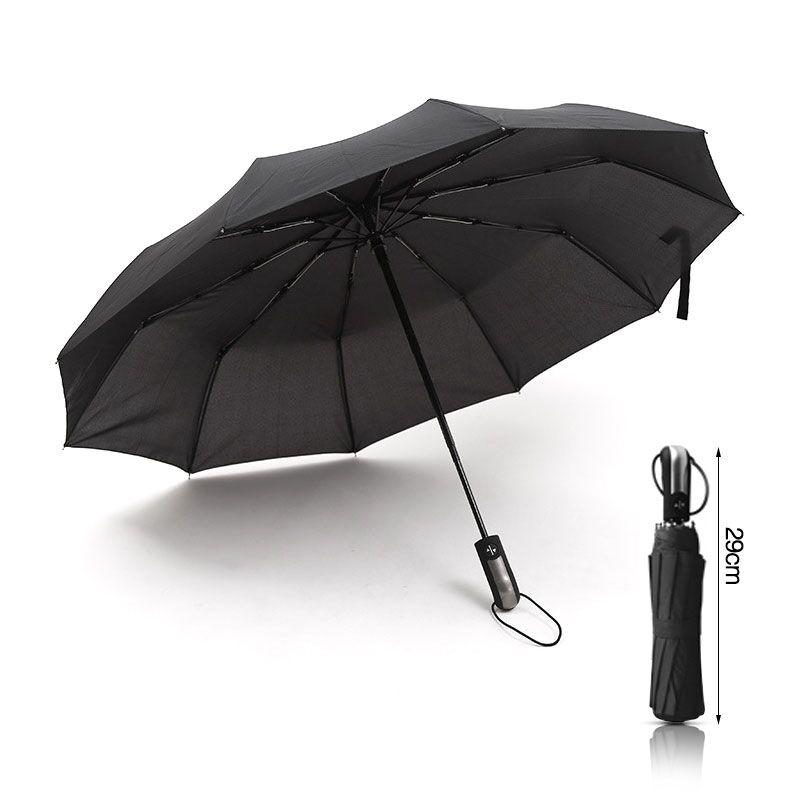 SJ Fully Automatic Commercial Men Travel Business Car Umbrellas Male Female Windproof Wind Resistant Aluminium Alloy