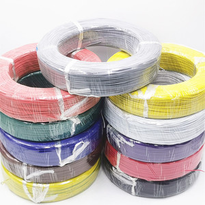 11 colors available 5 meters 1007 electronic wire 24awg 26 28 30 22AWG 18AWG 16AWG PVC wire can be processed on behalf of