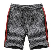 New 2020 Men's Summer Casual Plaid Shorts Men Straight Shorts Mens Fashion Cotton Beach Short Pants Men Clothing