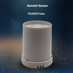 Kippen eimer regen sensor niederschläge recorder hohe präzision industrielle regen eimer RS485/Puls regen überwachung station