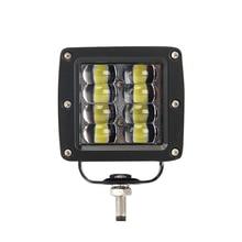 1 шт. 80 Вт 8000 лм Автомобильный светодиодный светильник 3 дюйма рабочий светильник светодиодный луч DRL 12 в 24 В для Jeep тракторов лодка 4x4 грузовик внедорожник противотуманная фара