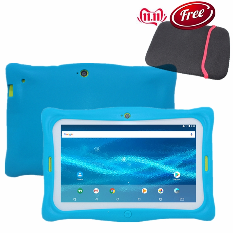 7 Inch Kids Tablet PC  M760  Dualcamera  1GB+16GB  1024x600 IPS  WIFI Android 7.1.2 Quad-Core As Gift