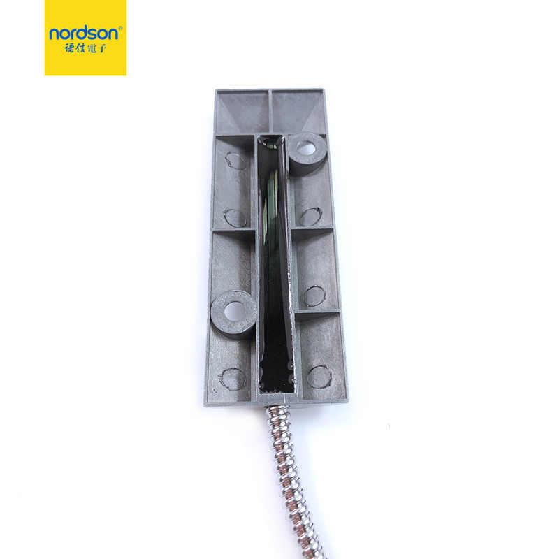 Nordson Asli Kabel Overhead Magnetic Kontak Garasi Roller Metal Shutter Pintu Gerbang Sensor Detector Magnetic Kontak Switch