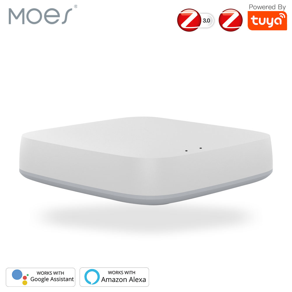 Tuya ZigBee Smart Gateway Hub Smart Home Bridge Smart Life APP Wireless Remote Controller title=