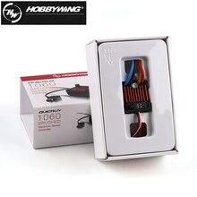 1 шт. оригинальный контроллер скорости HobbyWing QuicRun 1060 60A, электронный контроллер скорости ESC для 1:10 RC автомобиля, водонепроницаемая скоростная лодка