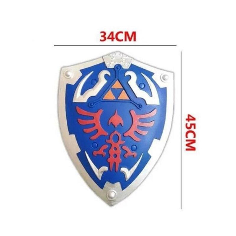 Zelda Hylian Escudo Cosplay Prop Blue Shield PVC Material