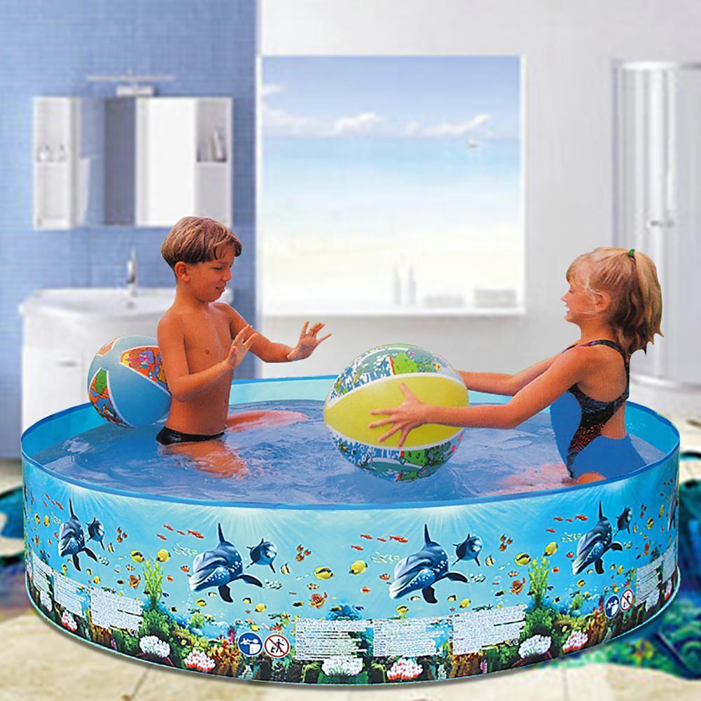 Outdoor Bathroom Garden Round Children Water Play Swimming Pool Summer Baby Kids Plastic Interactive Bathtub