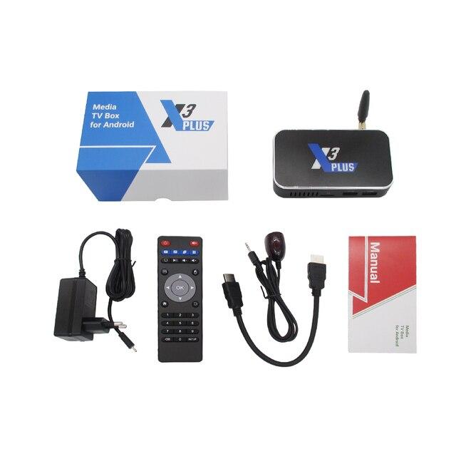 X3 CUBE X3 PLUS Smart Android 9.0 TV Box Amlogic S905X3 2GB 4GB DDR4 16GB 32GB ROM Bluetooth 4K HD X3 PRO upgrade from X2 PRO 5