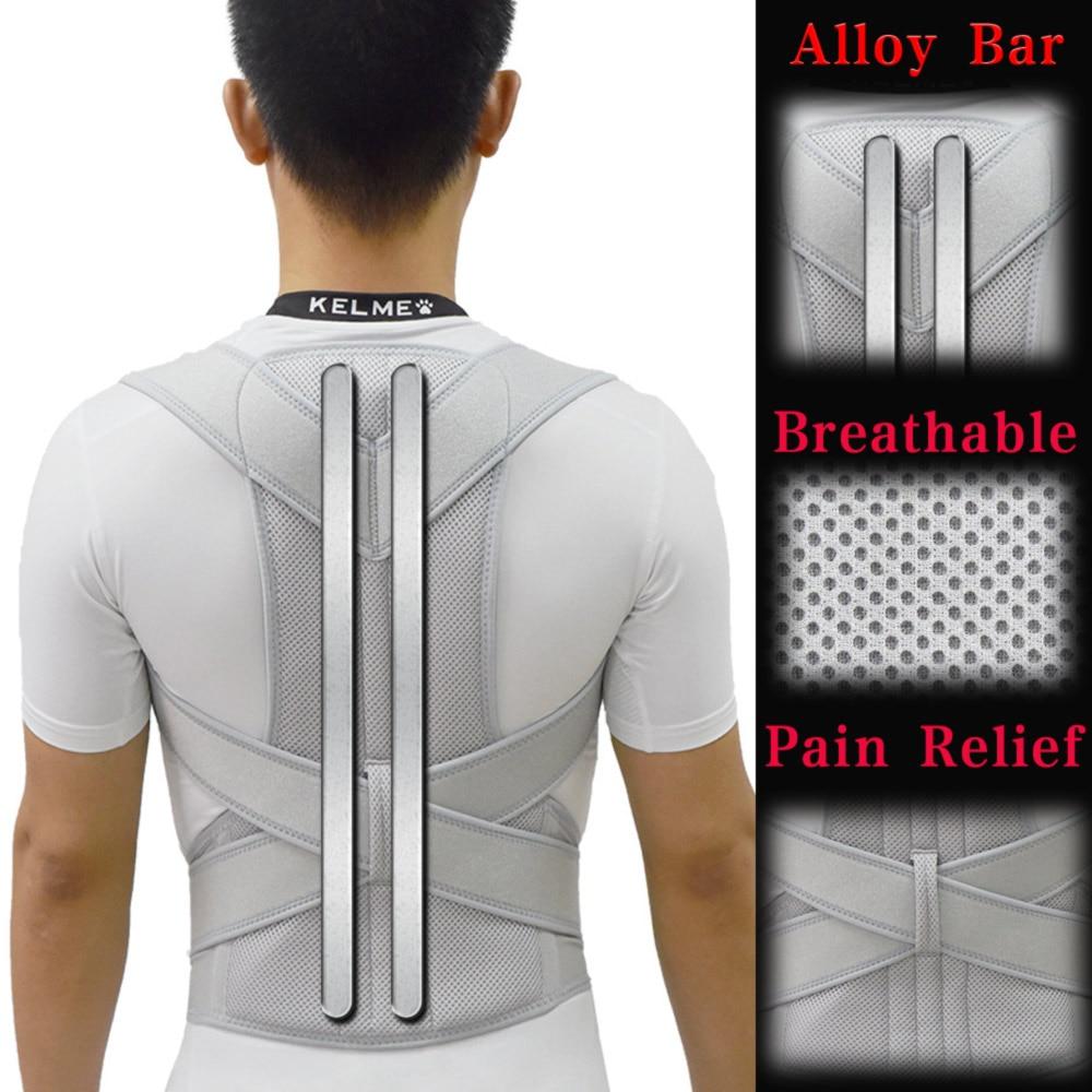 Alloy Bar Posture Corrector Scoliosis Back Brace Spine Corset Shoulder Therapy Support Posture Correction Belt Orthopedic Back