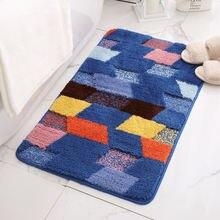 Современный ковер для ванной Нескользящие коврики Впитывающий