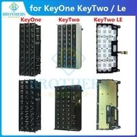 のための keytwo Key2 ル keyone DTEK70 キーボードボタンフレックスケーブル電話の交換部品黒銀テストトップ