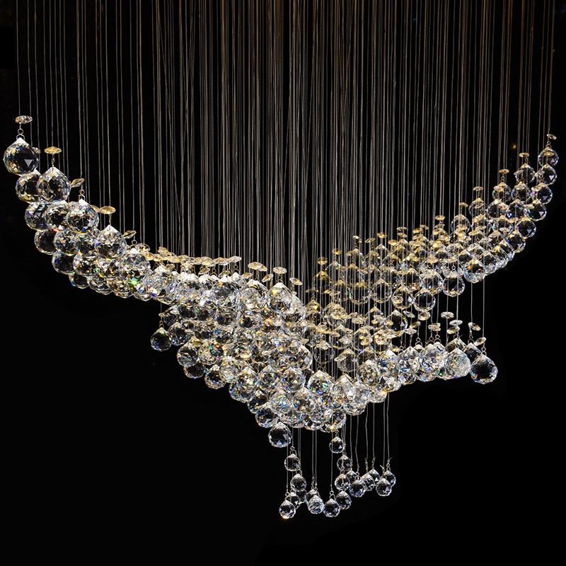 New Eagles Design Luxury Modern Crystal