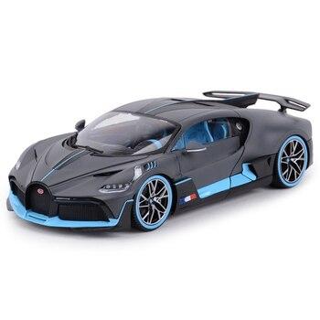 Bburago 1:18 Bugatti Divo Sports Car Static Simulation Die Cast Vehicles Collectible Model Car Toys bburago 1 18 bugatti divo sports car static simulation diecast alloy model car