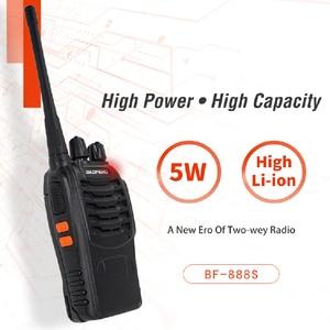 Image 2 - 3PCS Baofeng BF 888S Two Way Radio BF 888S 6km Walkie Talkie 5W Portable CB Ham Radio Handheld HF Transceiver Interphone bf888S