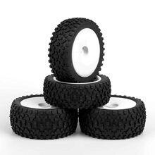 Резиновые передние и задние шины колеса rc 4 шт 90 мм 1:10 12
