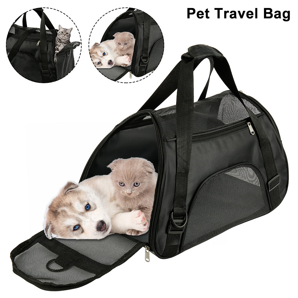 Pet Backpack Messenger Carrier Bags Cat Dog Carrier Outgoing Travel Packets Breathable Pet Handbag Yorkie Chihuahua