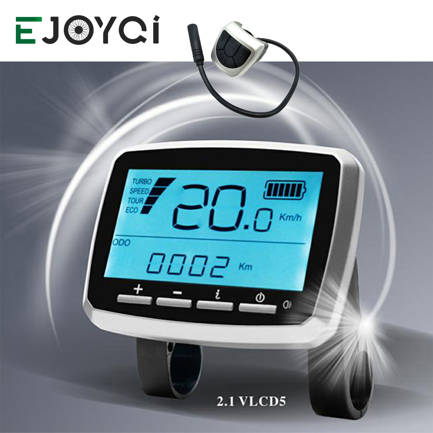 TongSheng VLCD5 Display Operator Ebike LCD Display Electric Bicycle Ebike Accessories VLCD 5 Display For TSDZ 2 Mid Motor