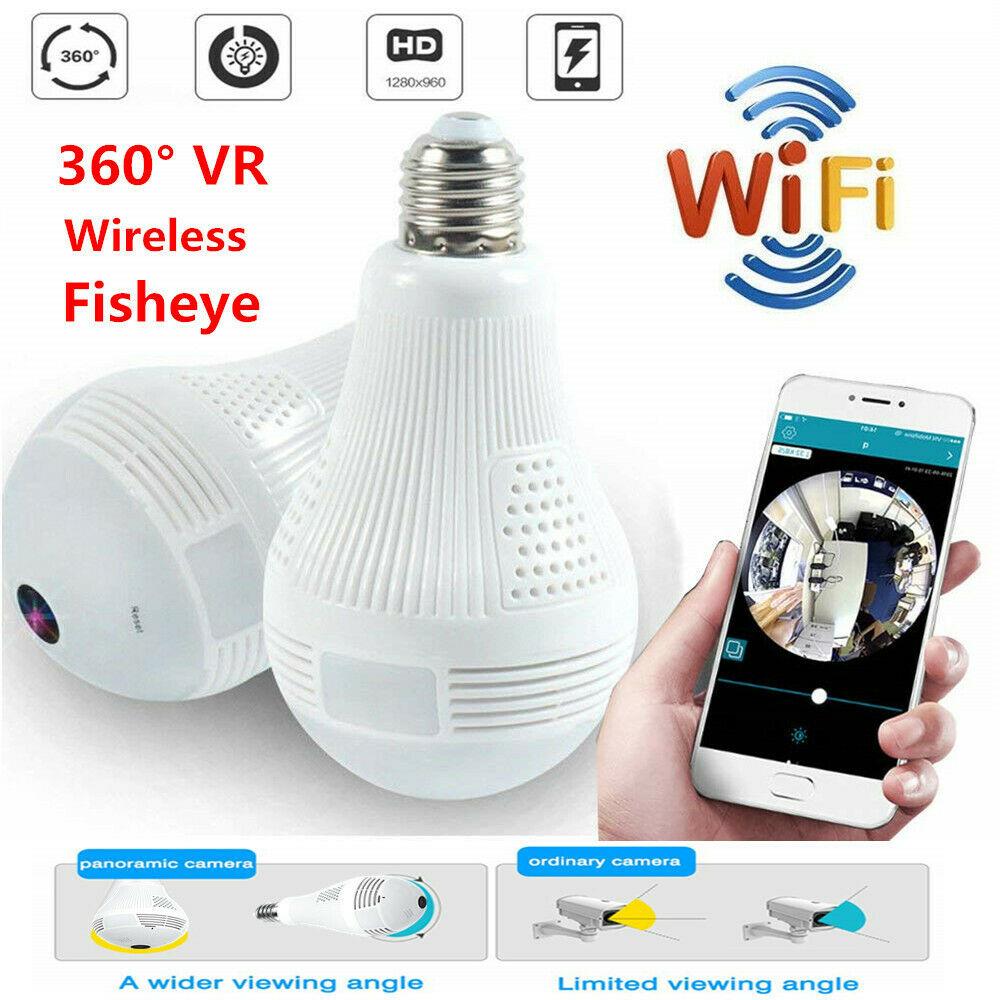 360 lampe Mini Wifi Kamera Gizli Kamera Wireless IP Security CCTV Startseite Überwachung Smart Webcam Action Video Micro Fernsehkamera