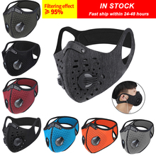 Bicycle-Mask Sport Dust-Mask ACTIVATED-CARBON-FILTER PM2.5 with Training Mountain-Road-Bike