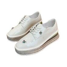 New luxury shoes women designers zapatos de mujer plataforma schoenen vrouw brogues woman